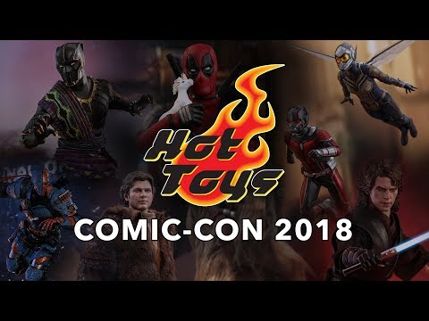 Hot Toys at the Sideshow Booth - SDCC 2018
