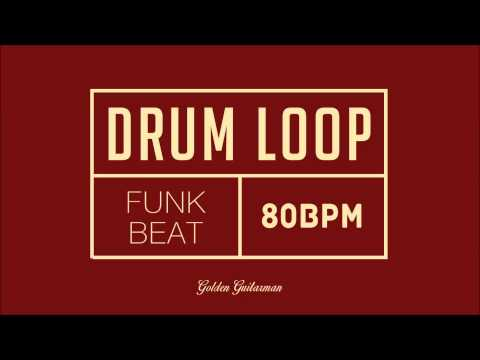 Funk Drum Loop 80 BPM