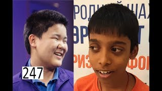 Youngest Grandmaster vs Youngest Master!