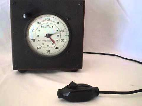 The Standard Electric Time Company Type S 1 Timer - YouTube on