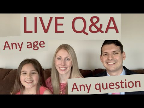 Our First Live Q&A!!