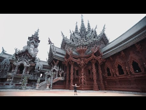 THAILAND'S MOST INCREDIBLE TEMPLE  - Sanctuary of Truth