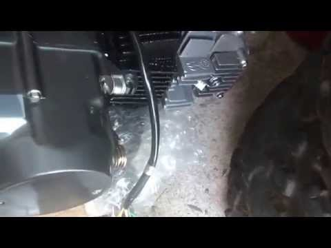 6_23_2014, Wiring 125cc LiFan Pit bike motor, - YouTube