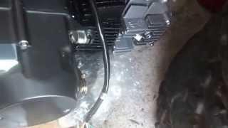6_23_2014,  Wiring 125cc LiFan Pit bike motor,