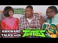 TMNT! Rise of the Teenage Mutant Ninja Turtles Cast Interview (Awkward Talks)