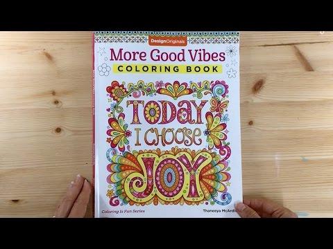 More Good Vibes Coloring Book By Thaneeya Mcardle Thaneeya Com