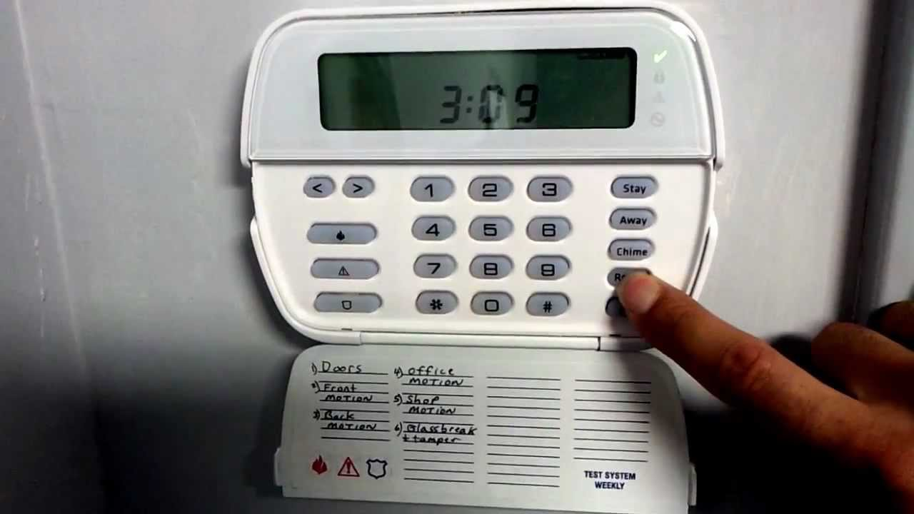 Tutorial Alarm System Security