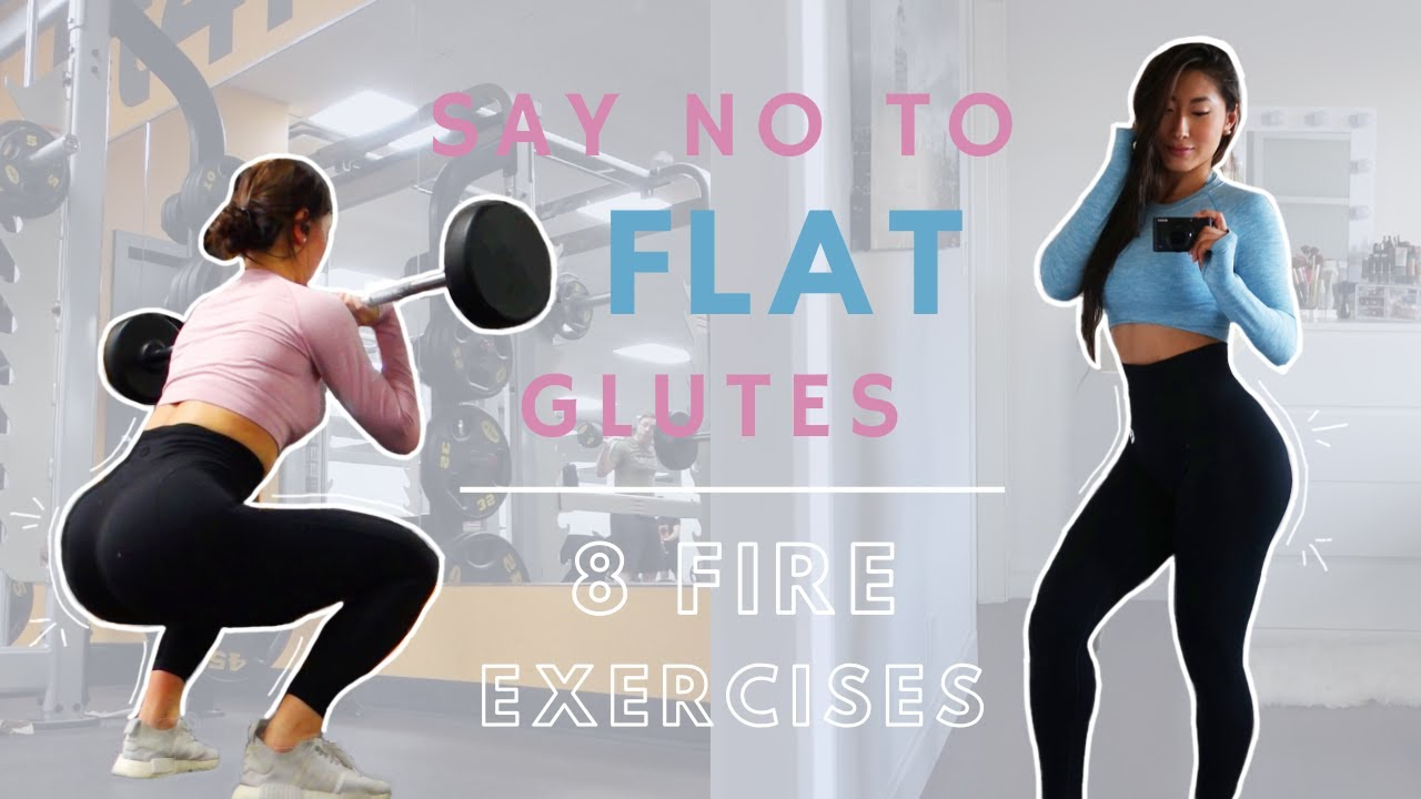 NO MORE FLAT GLUTES   8 Fire Glute Building Exercises