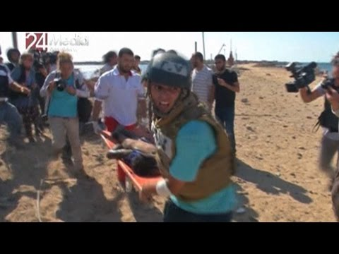 Horror on Gaza Beach: New York Times Photographer Witnesses Israeli Killing of 4 Palestinian Boys