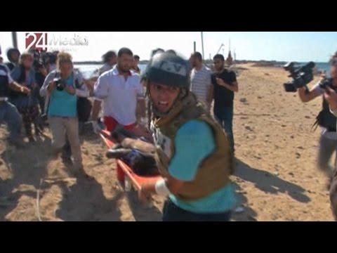 Horror on Gaza Beach: New York Times Photographer Witnesses Israeli Killing of 4 Palestinian Boys