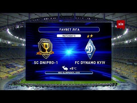 Dnipro-1 Dinamo Kiev Goals And Highlights