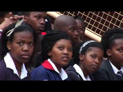 High School students in Cape Town, South Africa