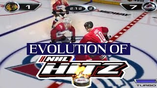 Graphical Evolution of NHL Hitz (2001-2003)