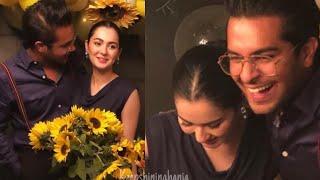 Asim Azhar arranged a surprise Birthday Party for his Girlfriend Hania Amir