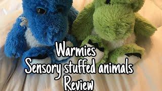 Warmies sensory stuffed animals review