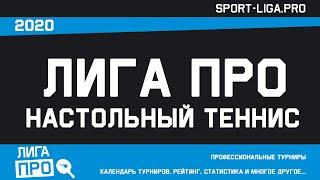 Настольный теннис А5 Турнир 19 января 2021г 19 30