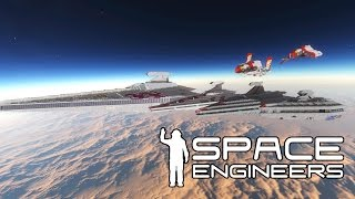 Space Engineers - Scale? What can the game handle? Star Wars Builds - Live