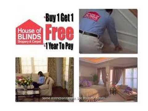 House of Blinds, Drapery, & Carpet TV Spot