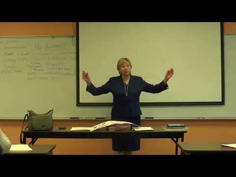 Janet Mills speaking at Coastal Senior College