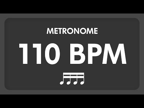 110 BPM - Metronome - 16th Notes