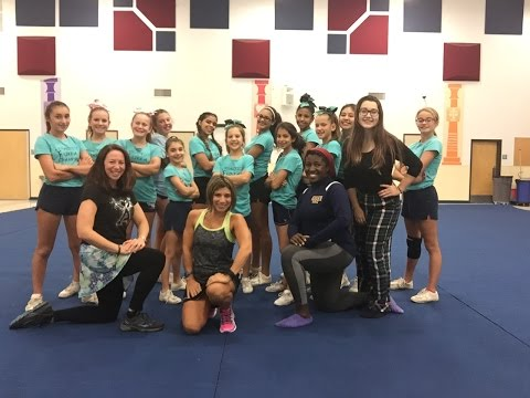 fitness-fun-friday-with-michelle-&-tammy---cheerleading-practice