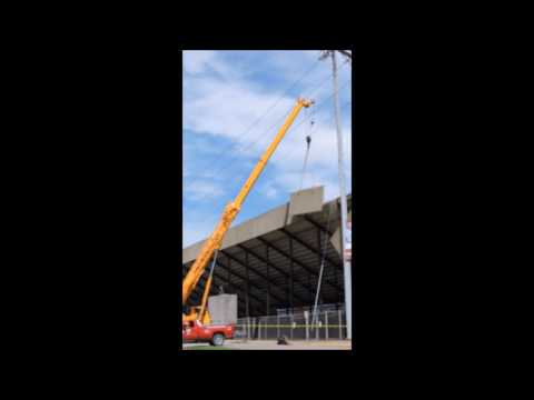 Wheeling Island Stadium Concrete Panel Collapse
