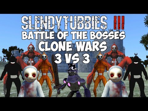 ONE TEAM TO THE FINALS WHILE ANOTHER IS SENT HOME | SLENDYTUBBIES 3 BOTB CLONES WARS 3 VS 3