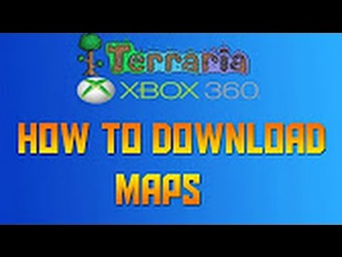 how to download terraria maps on ps4