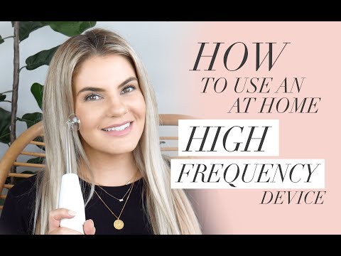 High Frequency Facial At Home For Acne, Wrinkles, Under Eye Circles, Cellulite & More!