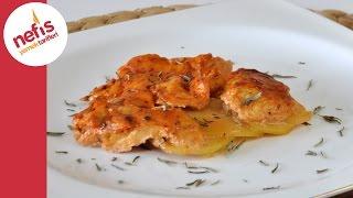 Fırında Kremalı Salçalı Tavuk | Nefis Yemek Tarifleri