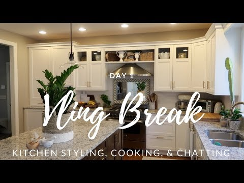 Vling Break: Day 1 Kitchen Styling, Cooking, & Chatting