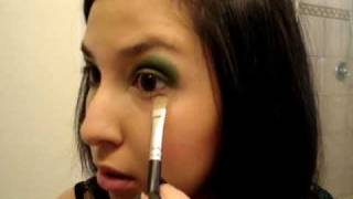 Green Eyeshadow Tutorial Thumbnail