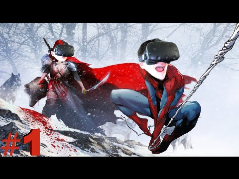 (VIRTUAL REALITY) IT'S LIKE BEING SPIDERMAN IN VR!!..... | Redswood (Part 1)
