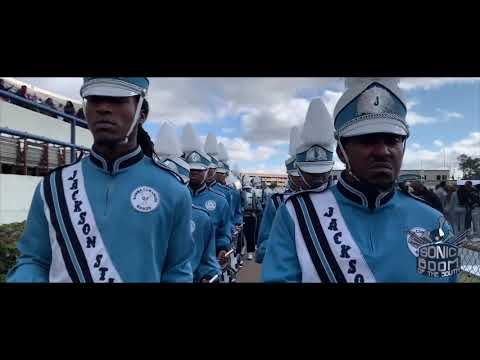 Jackson State University Marching In To The 2019 Capital City Classic