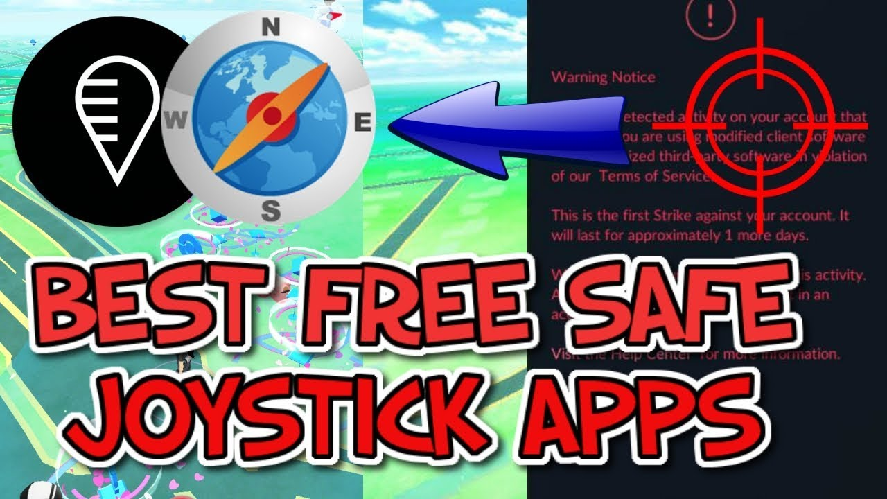 BEST SAFE JOYSTICK SPOOF APPS for ANDROID (FGL PRO, Fake GPS GO Location  Spoofer FREE) -Pokemon GO