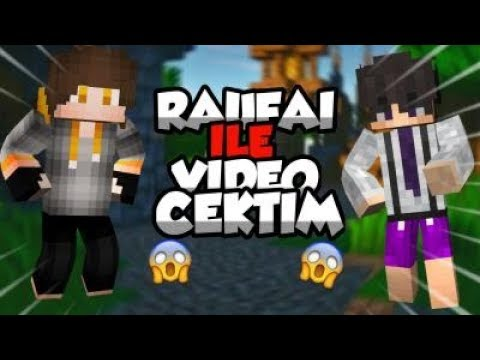 RAUFAİ İLE VİDEO ÇEKTİM CRAFTRİSE SKYWARS