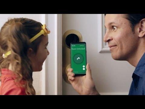 The Marriott Bonvoy App--unlock Your Door With Mobile Key.