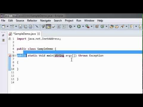 Get Server IP Address and Hostname in Java