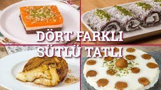 Dört Farklı Sütlü Tatlı Tarifi (Seç Beğen!) | Yemek.com