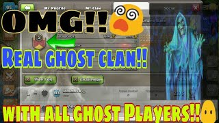 This is real ghost clan in clash of clans|| very unique and amazing clan in COC|| ghost Players COC