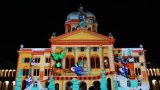 Rendez-vous Bundesplatz 2016: «Tutti Fratelli» – Licht- und Tonspektakel am Bundeshaus