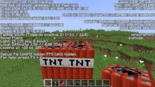 Minecraft FPS Test Windows 10