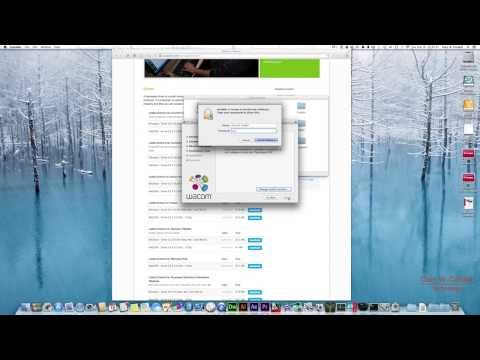 Wacom Intuos Tablet Driver Download & Install on Mac - YouTube