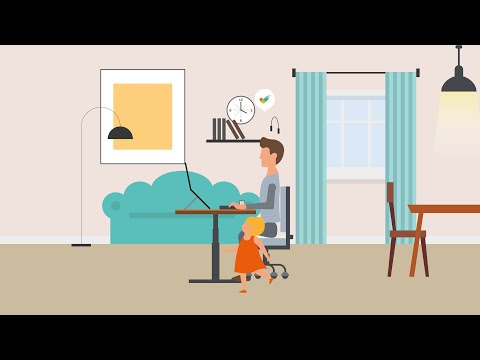 BE   Working from home   Animation