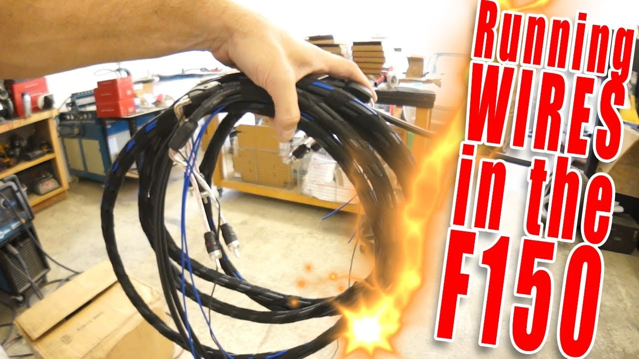 Running Wire In The F150