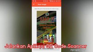 Cara Scan Qr Code Dari Gambar Galeri Foto