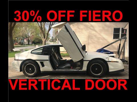 Fiero Lambo Doors Installation by Vertical Doors Incorporated & Fiero Lambo Doors Installation by Vertical Doors Incorporated ... pezcame.com