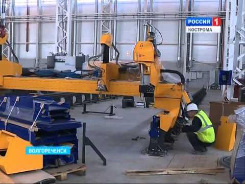 В Волгореченске запустили завод по производству буровых установок «НОВ Кострома»