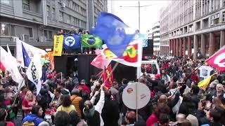 MAIS DE 40 MIL PESSOAS DEFENDEM A EDUCAÇÃO E PROTESTAM CONTRA GOVERNO BOLSONARO, EM PORTO ALEGRE