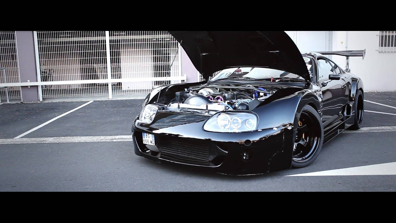 TOYOTA SUPRA 2JZ [TIME ATTACK] - YouTube